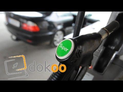 Bmw das Benzin der Aufwand