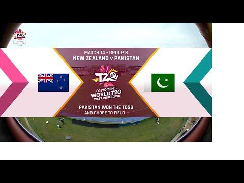 New Zealand v Pakistan - Women's World T20 2018 highlights