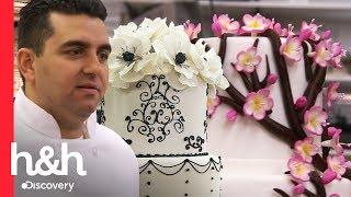 3 pasteles de flores de Carlo's Bakery | Cake Boss | Discovery H&H