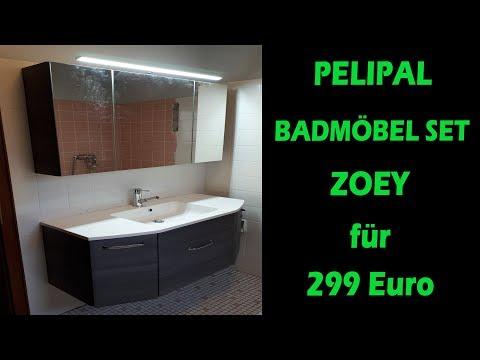 PELIPAL BADMÖBEL SET ZOEY FÜR 299 EURO - Bestes Preis/Leistungsverhältnis ??? [Aufbau | Vorstellung]