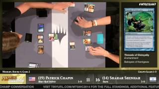 World Championship 2014 Round 4 (Modern): Patrick Chapin vs. Shahar Shenhar