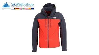 Helly Hansen, Signal, ski jacket, men, grenadine red