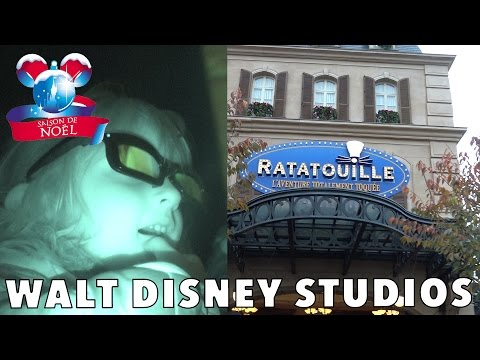 VLOG • ATTRACTIONS FUN Walt Disney Studios Paris - Studio Bubble Tea amusement park