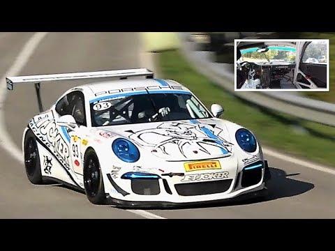 9.000Rpm Porsche 911 GT3 Cup || Full Onboard - HillClimb Masters 2018