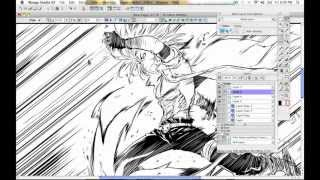 How to Draw Manga with Sen and Kai - Manga Action Pose Part 1