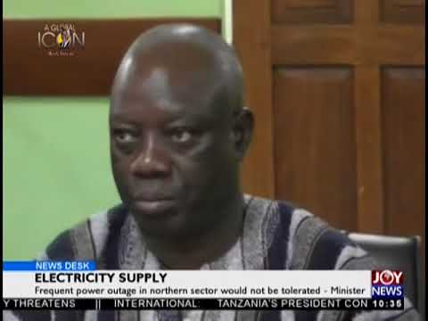 Electricity Supply - News Desk on JoyNews (11-9-18)