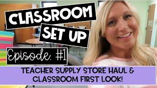 Classroom Setup 2020 Ep 1