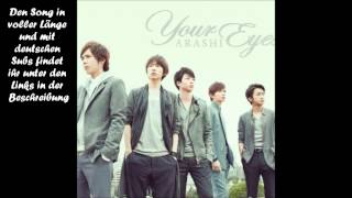 Arashi - Your Eyes [german sub]