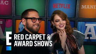 "Emma Stone & Jonah Hill Recall ""Superbad"" Auditions 