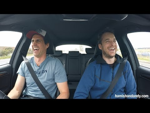 Aussie radio hosts test how long the car can run after the tank goes empty