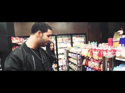 Nicki & Drake BTS of Usher's