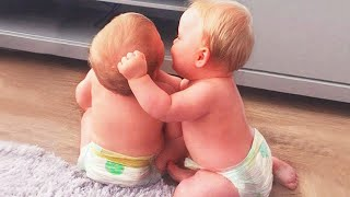 The Best Twin Baby Videos Of All Time - JustSmile