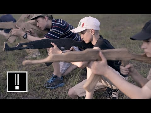 Ukraine's Hyper-Nationalist Military Summer Camp for Kids | NBC Left Field