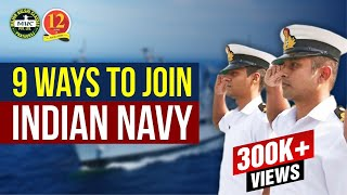 How to join Indian Navy as an OFFICER or SAILOR After 12th, Graduation and 10th