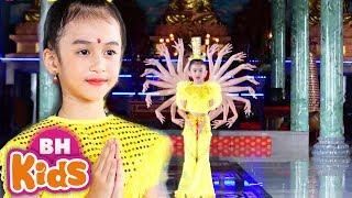 Tiếng Phạn Thần Chú Quan Âm - Bé Tú Anh - Nhạc Phật Thiếu Nhi