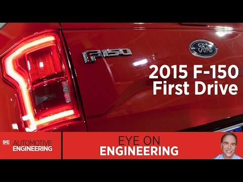SAE Eye on Engineering: 2015 F-150 First Drive