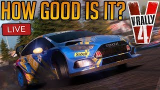 V-Rally 4 First Impressions | Is it any Good? Or am I just rubbish at it?