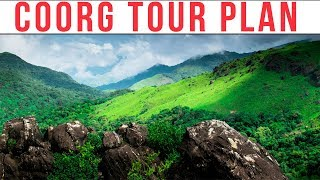 Coorg Tour Plan| Things to do in Coorg
