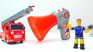 Пожарный СЭМ и РУПОР 📢 ВОЛШЕБНАЯ КОРОБКА Капуки Кануки 🚒  Распаковка игрушек. Видео про машинки 🚒