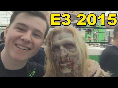 E3 Trip Day 1! Razer Mamba, Zombies, Rainbow 6 and more!