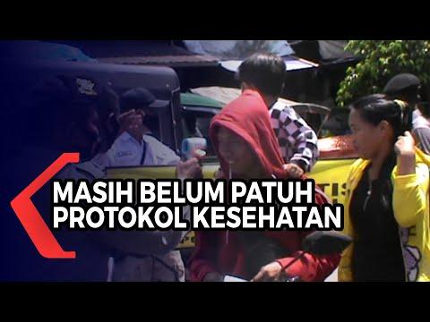 operasi yustisi protokol kesehatan masih dilakukan petugas temukan warga tak patuh bermasker