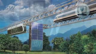 Новая дорожно-транспортная система! Будущее МИРА за SkyWay SKY WAY905