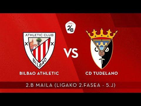 🔴 LIVE | Bilbao Athletic vs CD Tudelano | 2.B 2020-21 I Ligako 2.Fasea – 5.J
