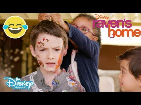 Raven's Home   Kids Challenge ft. Levi and Booker   Disney Channel UK