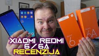 Xiaomi Redmi 6 i Redmi 6A recenzija - modernog kompaktanog dizajna i za svačiji džep (17.08.2018)