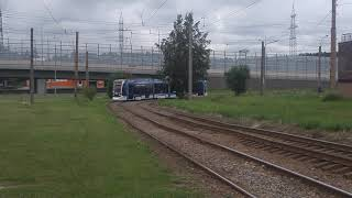 Новый трамвай Метелица Stadler