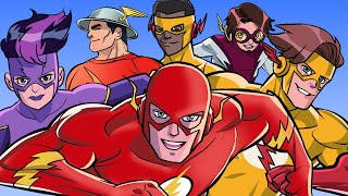 The Animated History Of Every Flash! [DC Comics]