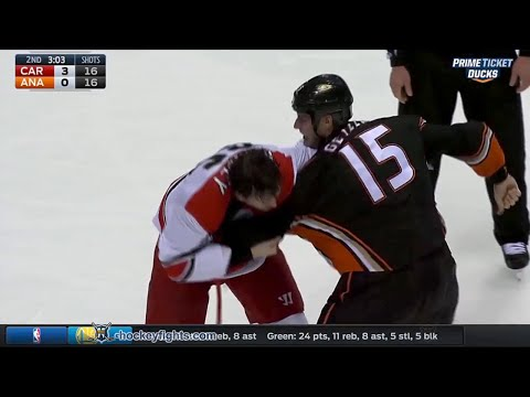 Ryan Getzlaf vs. Ron Hainsey