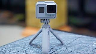 GoPro HERO7 Black (Limited Edition: Dusk White) + GoPro Shorty - Unboxing & Video Test