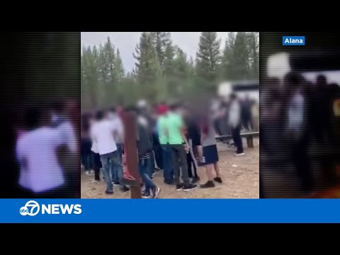 Busloads of visitors swarm South Lake Tahoe park, witnesses say crowd came from Bay Area
