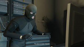 GTA 5 (PS4) - Mission #65 - The Bureau Raid (Roof Entry) [Gold Medal]