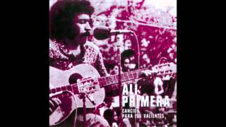 Cancion para los valientes - LP (1976) - Ali Primera (Video)