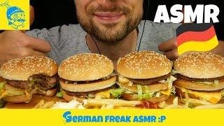 ASMR McDonalds deutsch: 45 Min Burger essen 🍔 - GFASMR