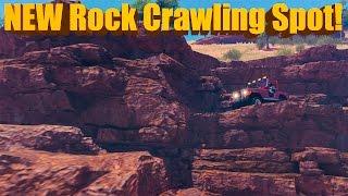 Forza Horizon 3 NEW Rock Crawling Spot!