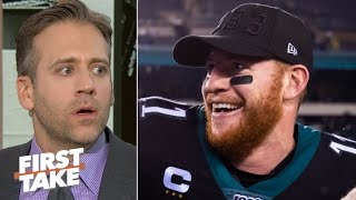 Max Kellerman rips Carson Wentz: 'What happened?' | First Take