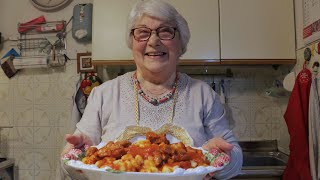 How to Make Gnocchi with Pork Ribs from Rome | Pasta Grannies