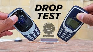 NEW Nokia 3310 (2017) DROP TEST vs Original Nokia 3310