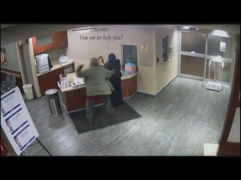 Video shows man attacking 19-year-old at Detroit hospital