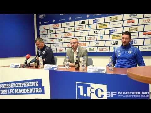 Pressekonferenz vor dem Spiel …