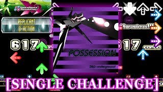 【DDR X2】 POSSESSION [SINGLE CHALLENGE] 譜面確認+クラップ