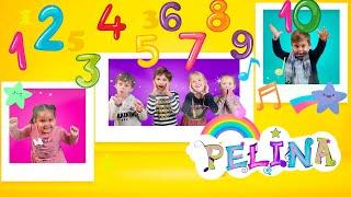 Els numeros De'l 1 al 10  aprengueu jugant i cantant i així comptarem de l'u al deu.