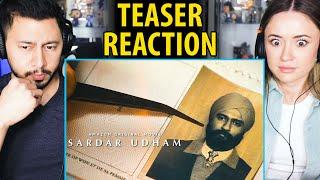 SARDAR UDHAM | Vicky Kaushal | Shoojit Sircar | Teaser Reaction!