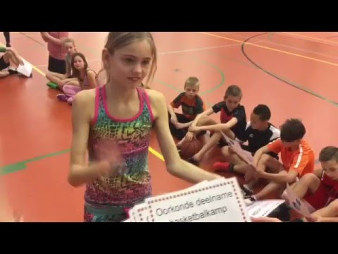 GasTerra Health Energizers Basketbalkamp 2016