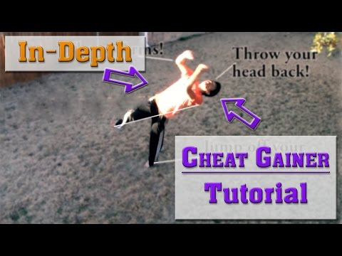 How to do a Cheat Gainer / J-Step Gainer | Tutorial