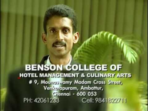 Benson College of Hotel Management and Culinary Arts video cover1