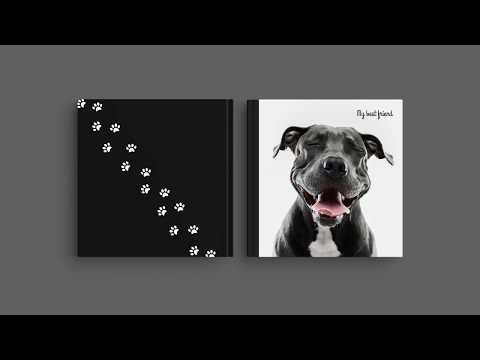 Inspiration for Your Photo Book Cover – 'My best friend'
